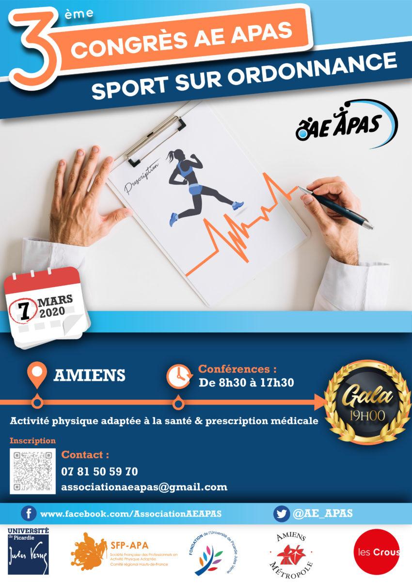 3de Amiens-congres over Prescriptiesporten